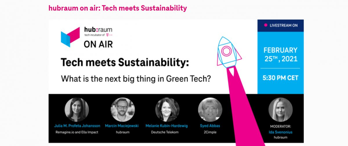 hubraum on air: Tech meets Sustainability